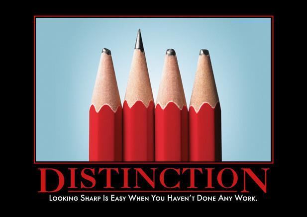 distinctiondemotivator